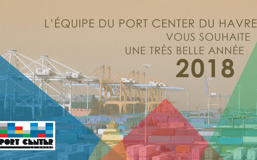L'équipe du Port Center vous souhaite une belle année 2018 !
