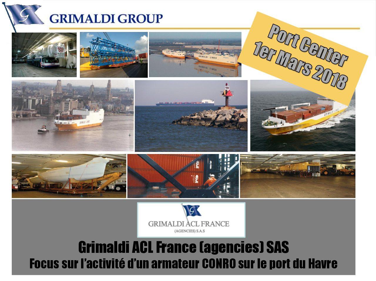 Conférence du 1er mars à 18h – Focus sur l'activité d'un armateur conro sur le port du Havre