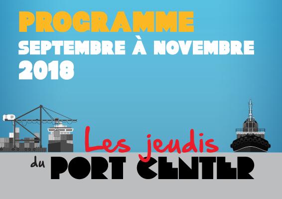 Téléchargez la nouvelle programmation des Jeudis du Port Center !