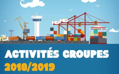Découvrez notre offre d'activités 2018/2019