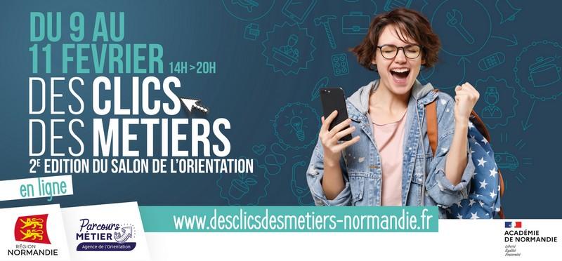 Participez au Salon virtuel de l'Orientation de la Région Normandie