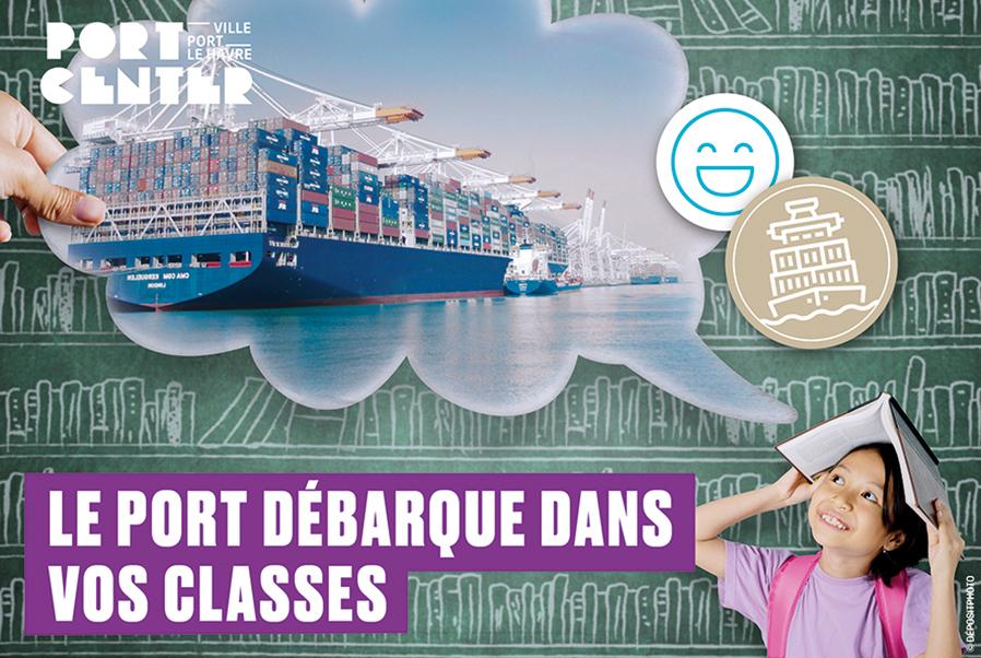 Le port débarque dans vos classes !