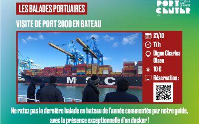 Port 2000 en bateau